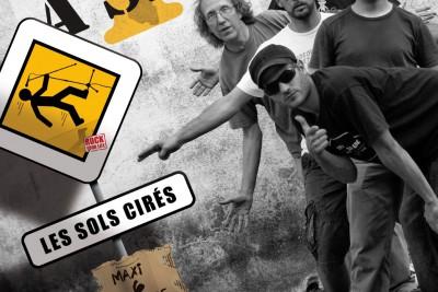 Affiche promo cd du groupe les Sols Cirés - 1er Lavage à Sec