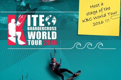 Page de Garde - Dossier Sponsor KiteBoarder Cross World Tour 2016