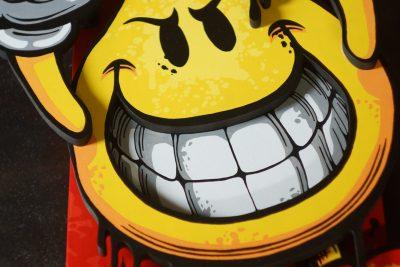 Panneau décoratif Skateboard - Flameboy - World Industries - Réalisation www.mad-system.com